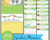 "Garden Planner {Printable} Set - Sized Large 8.5 x 11"" PDF"