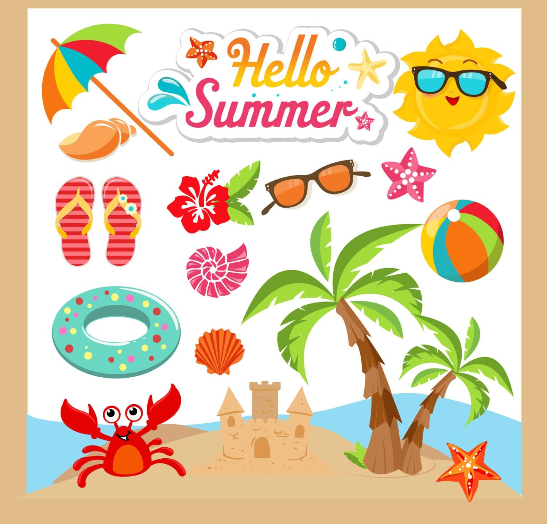 Beach Clip Art Summer – Cliparts