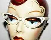 1950s French Cateye Glasses