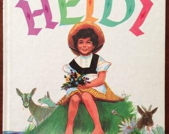 Heidi By Johanna Spyri - Vintage Book, 1961