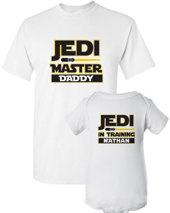 Star Wars Dad and Baby Shirt Jedi Shirt for Dad and Baby
