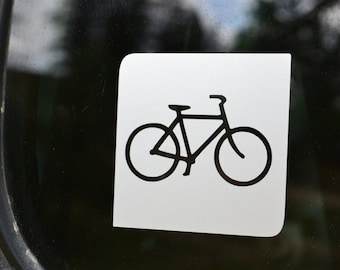 Biking Symbol Decal