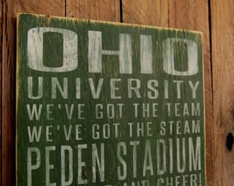 Ohio university home decor