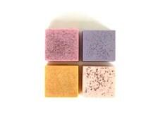 WOMENS Soap Gift Set - Vegan Skincare for Women Birthday Gift for Wife Womens Gifts Under 25 Girlfriend Handmade Bath Soaps for Women
