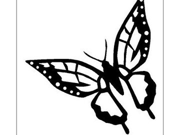 Unique Nature Stencils Related Items Etsy
