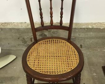 Antique Early American Spindle Back Chair