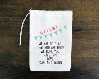 Kids Activity Bag {set of 10} Personalized Wedding Kids Activity Favor Bags