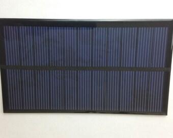 2x Mini Polycrystalline Solar Panel 6V 270mA Tabbed Epoxy Sealed Cell DIY Hobby Project