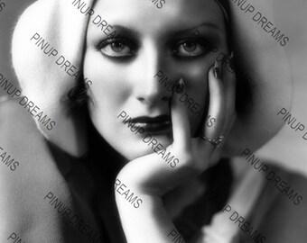 "Beautiful Joan Crawford Photo Wall Art Print of The Beautiful Hollywood Legend Vintage A4 (11.7"" x 8.3"")"