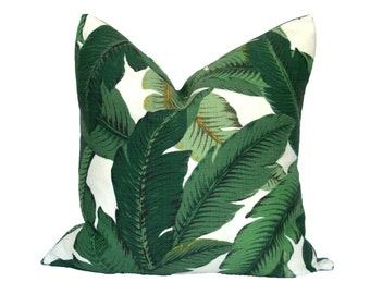 Indoor/Outdoor Banana Palm Pillow Cover - Choose Your Size