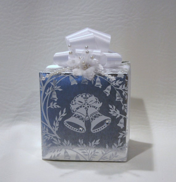 Wedding Music Box Wrapped As A Gift