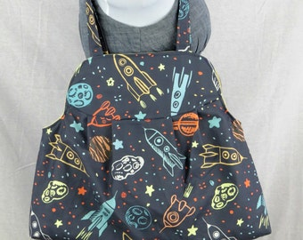 Large Rocket Ship Purse