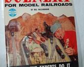 1958 SCENERY For Model Railroads Magazine Book