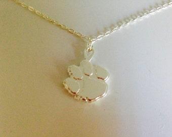 Registered Clemson Tiger Necklace | Clemson Necklace | Tiger Necklace | Tiger Pendant Necklace | Tiger Charm