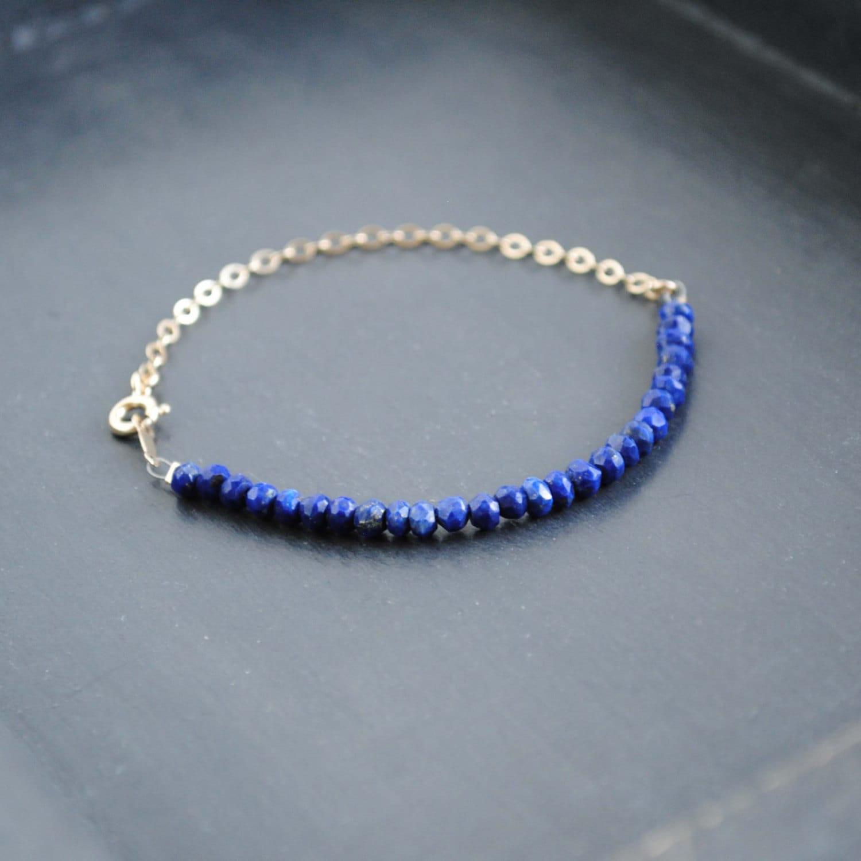 lapis bracelet lapis lazuli bracelet lapis bead bracelet. Black Bedroom Furniture Sets. Home Design Ideas