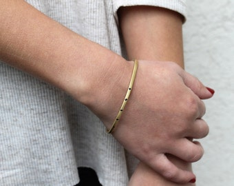 Everyday Delicate Bracelet, Thin Gold Bracelet