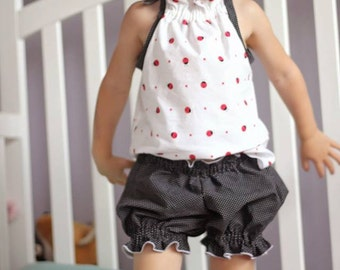 Baby Sweet Dreams Vintage Bloomers pattern (NB to 3 years) - perfect for Summer sleepwear - PDF pattern