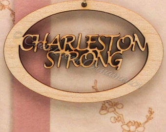 Charleston Strong Ornament - Charleston Strong Gifts - Personalized Free