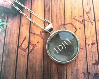 Supernatural 'Idjit' Necklace
