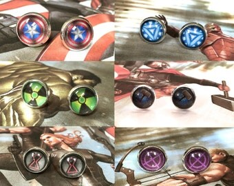 MARVEL Stud Earrings