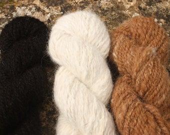 Alpaca Hand-spun Yarn
