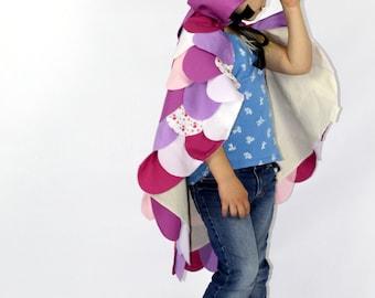 The Owl - Purple - Handmade Children's Costume