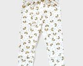 Macaroni baby and kid pants. 100% organic cotton (GOTS). 0-6m / 6-12m / 12-18m / 2T / 3T / 4T