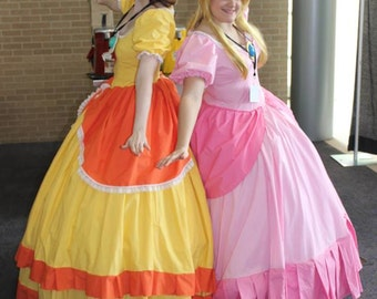 Adult Princess Peach Cosplay Costume