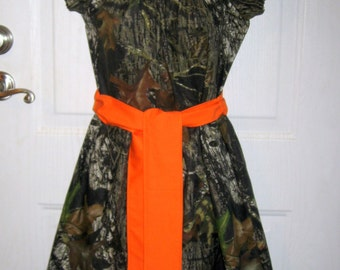 Camo Wedding dress. Women's, Young Ladies or Juniors Size Camo Dress for Weddings , Women's Camo Dress for Weddings or Everyday...