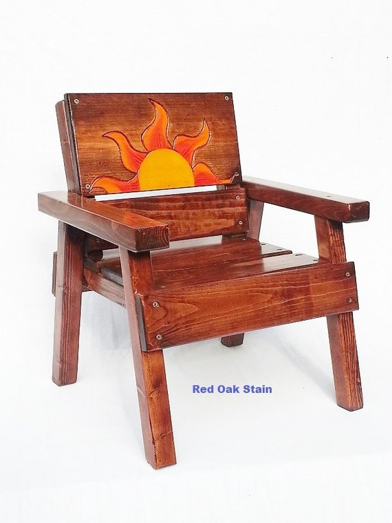 Kids Wood Chair Childrens Outdoor Furniture By