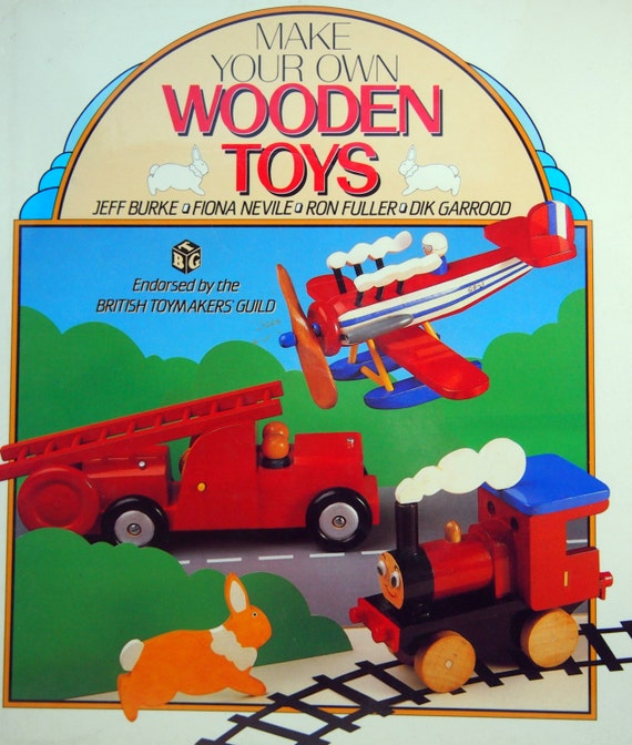 Permalink to make your own wooden toy train