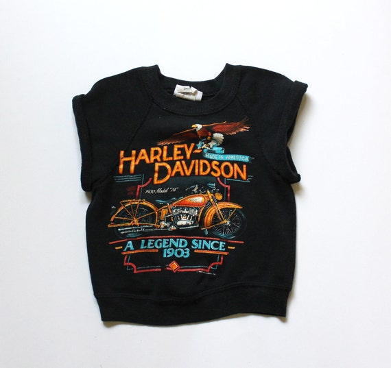 Harley Davidson Vintage Sweater Wool