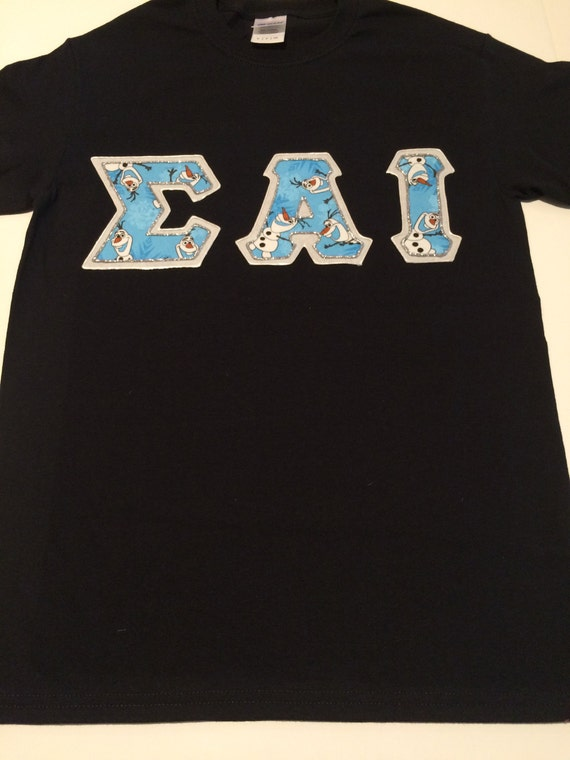 Custom greek letter shirt sigma alpha iota by for Custom greek letter t shirts