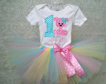 1st Birthday Puppy Tutu Outfit