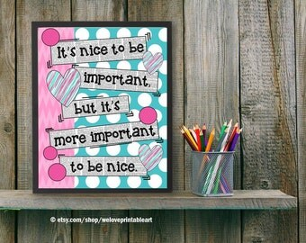 Gifts for teachers classroom decor poster by for Poster decoratif