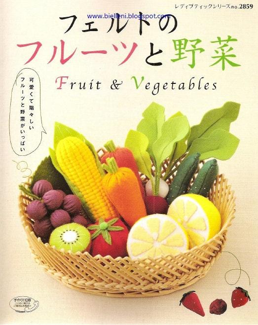 Felt Food Toys R Us : Felt food toys pattern fruits veggetable