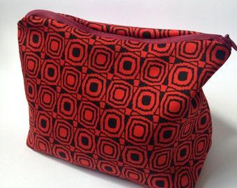 Cotton Purse, Make up Bag, Pouch