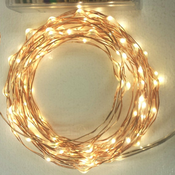 100 Fairy Lights on a 18-foot copper wire strand. by OneStepTimers