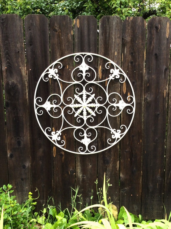Metal Wall Decor For Bedroom : Items similar to large wall art metal decor silver