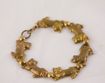 Cat Chain Bracelet