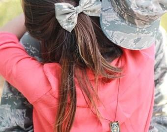 Military Hair Bows