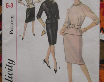 Gorgeous 1960s dress pattern