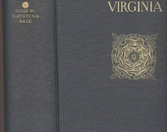 Historic Gardens of Virginia, James River Garden Club, Limited Edition 1923, illustrated, 81 Historical  Gardens, Architecture Vintage Book