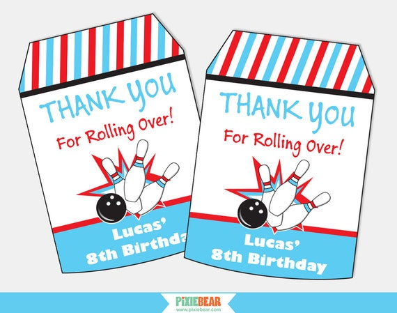 Bowling party favor tags bowling party favors bowling birthday bowling party favor tags bowling party favors bowling birthday bowling party thank you tags printable favor tag instant download from negle Image collections