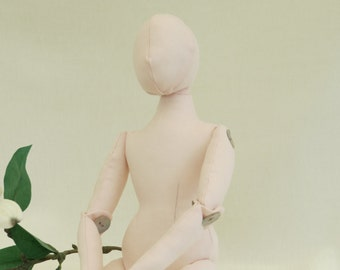 cloth doll blank - body - form