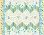 Chevron Ziz Zag Baby Quilt Pattern - INSTANT DOWNLOAD