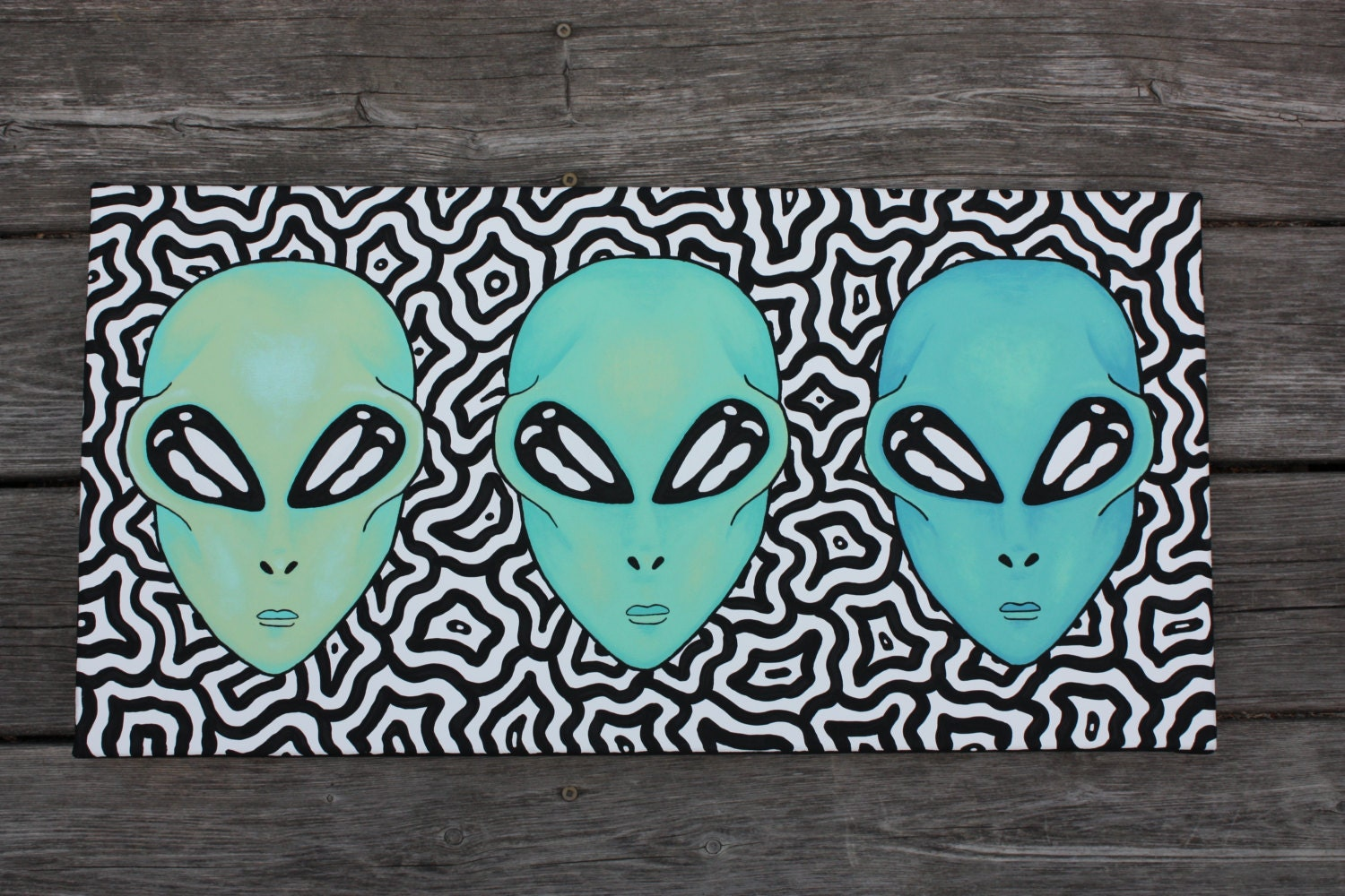 Trippy Paintings Ideas For Kids