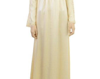 Vintage 1970's Gunne Sax Cream Victorian Dress  by Jessica  San Francisco, Excellent Cond, Size Med