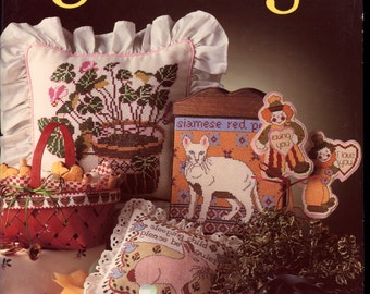 Cross Stitch a Beautiful Gift by Sharon Pema    Craft Book