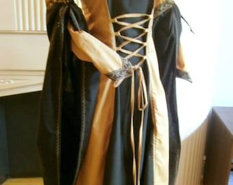 Medieval Dress, Renaissance Gown, LARP and Fantasy Costume Size M/L